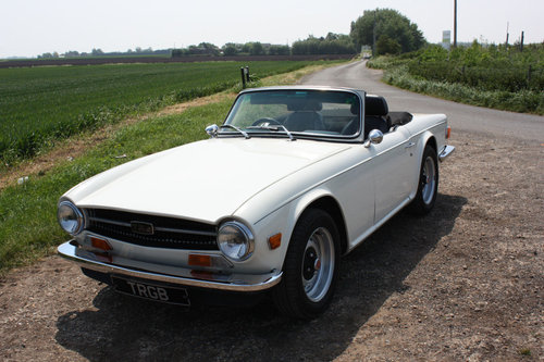 1969 TR6 ORIGINAL UK 150 BHP CAR SOLD (picture 5 of 6)