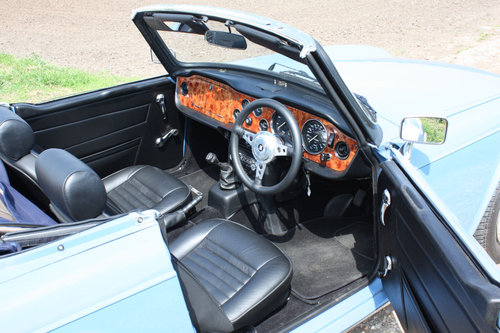 TR6 1973 VERY EARLY CR SERIES CAR. SOLD (picture 2 of 6)