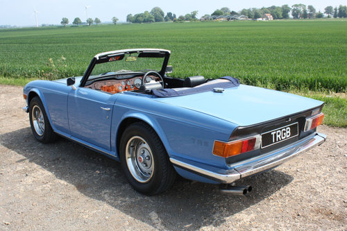 TR6 1973 VERY EARLY CR SERIES CAR. SOLD (picture 5 of 6)