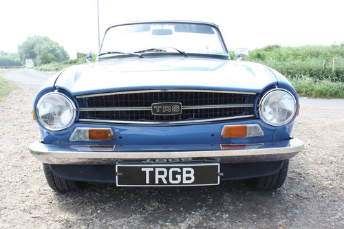 TR6 1973 VERY EARLY CR SERIES CAR. SOLD (picture 6 of 6)