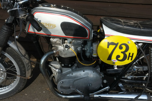 Triumph Bonneville 650 1967 Matching Number US BARN FIND £49 SOLD (picture 4 of 6)