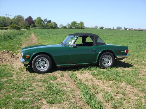 TR6 1970 CP 150 BHP ORIGINAL UK RHD 80K MILES OVERDRIVE SOLD (picture 3 of 6)