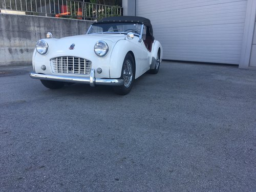 1957 Triumph TR 3 A For Sale (picture 1 of 5)