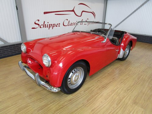 1955 Triumph TR3A with Overdrive for Restauration For Sale (picture 1 of 6)