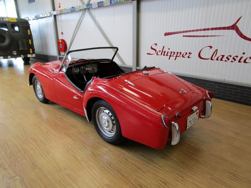 1955 Triumph TR3A with Overdrive for Restauration For Sale (picture 3 of 6)