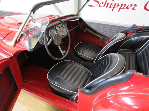1955 Triumph TR3A with Overdrive for Restauration For Sale (picture 4 of 6)