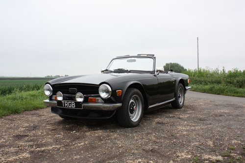 TR6 1972. ORIGINAL UK 150BHP CP SERIES CAR WITH OVERDRIVE SOLD (picture 1 of 6)