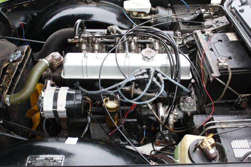 TR6 1972. ORIGINAL UK 150BHP CP SERIES CAR WITH OVERDRIVE SOLD (picture 3 of 6)
