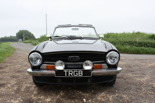 TR6 1972. ORIGINAL UK 150BHP CP SERIES CAR WITH OVERDRIVE SOLD (picture 6 of 6)