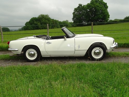 1970 Lovely Spitfire Mk3,excellent condition,ready to enjoy.    SOLD (picture 1 of 6)