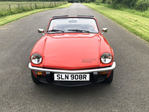 1977 TRIUMPH SPITFIRE 1500  SOLD (picture 2 of 6)