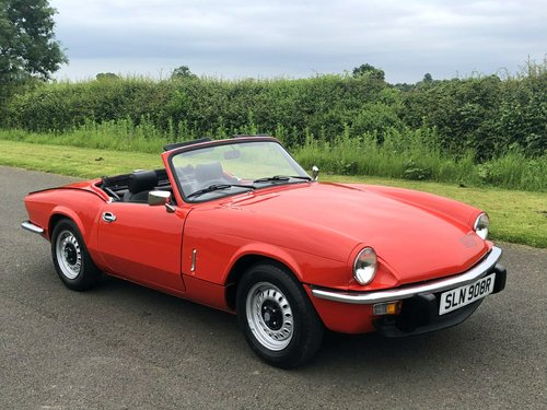 1977 TRIUMPH SPITFIRE 1500  SOLD (picture 3 of 6)