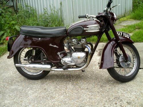 1959 TRIUMPH SPEED TWIN 5TA For Sale (picture 1 of 6)