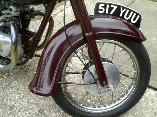 1959 TRIUMPH SPEED TWIN 5TA For Sale (picture 3 of 6)