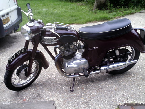 1959 TRIUMPH SPEED TWIN 5TA For Sale (picture 5 of 6)