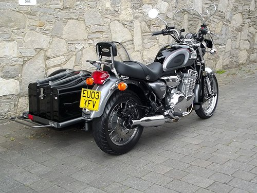 2002 (03) TRIUMPH THUNDERBIRD 900 WITH HEDINGHAM SIDECAR SOLD (picture 5 of 6)