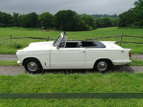 1971 Pretty Herald 13/60 convertible in excellent condition. SOLD (picture 1 of 6)