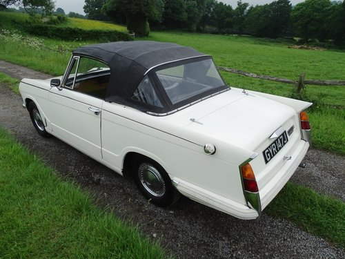 1971 Pretty Herald 13/60 convertible in excellent condition. SOLD (picture 3 of 6)