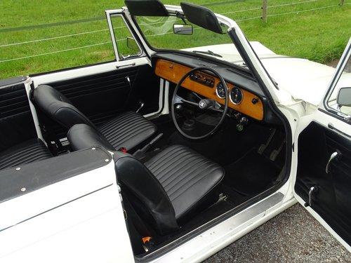 1971 Pretty Herald 13/60 convertible in excellent condition. SOLD (picture 4 of 6)