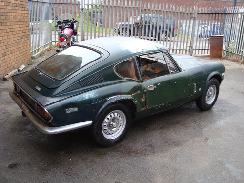 Triumph Gt6 20 Coupe1971br Green Lhd Us Import Odrive Sold