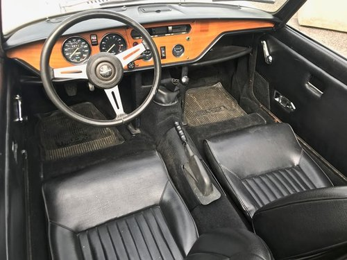 1974 TRIUMPH SPITFIRE MKIV SOLD (picture 4 of 6)
