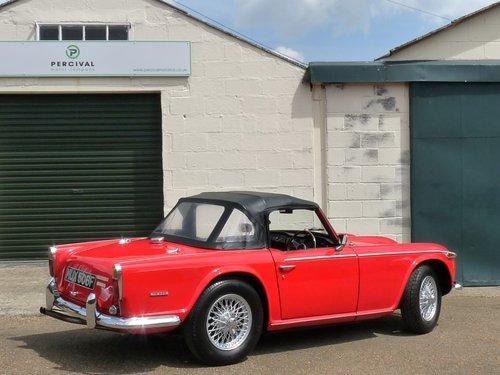 1968 Triumph TR250, restored SOLD (picture 2 of 6)