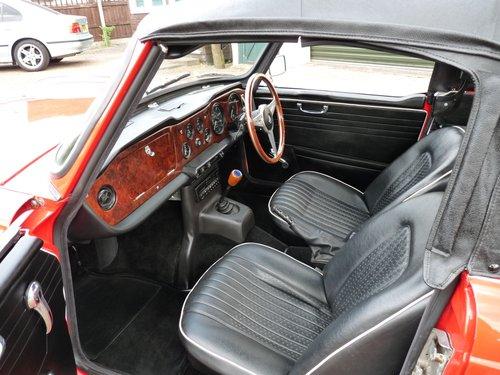 1968 Triumph TR250, restored SOLD (picture 3 of 6)