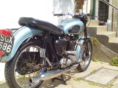 1956 TRIUMPH T100 PRE UNIT SOLD (picture 2 of 6)