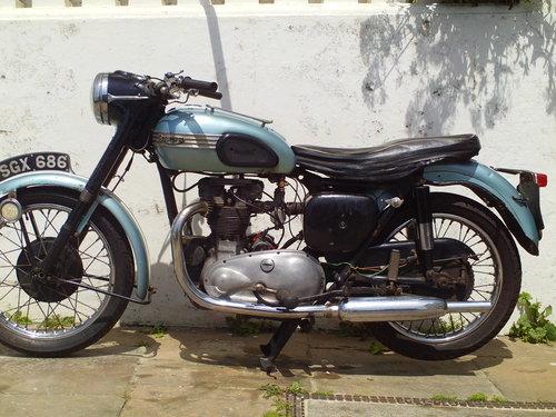 1956 TRIUMPH T100 PRE UNIT SOLD (picture 3 of 6)