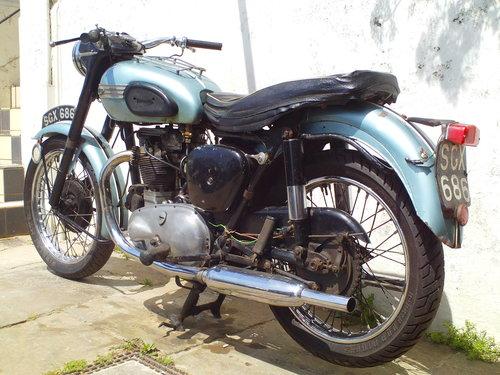 1956 TRIUMPH T100 PRE UNIT SOLD (picture 4 of 6)
