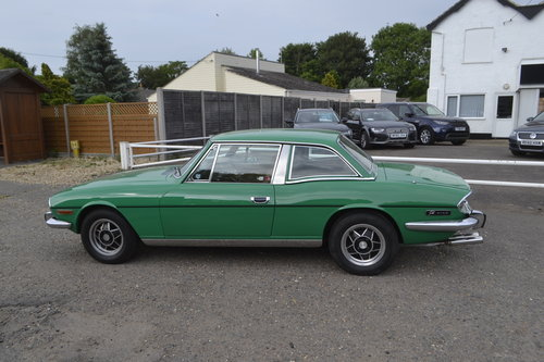 1997 Triumph Stag MK2 with hard top - very original  For Sale (picture 1 of 9)