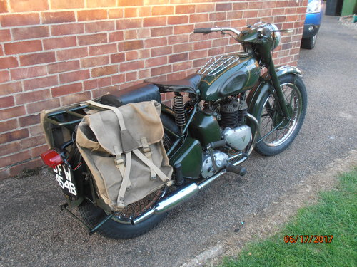 Triumph TRW 1964 EX WD  Ready to ride away For Sale (picture 1 of 5)