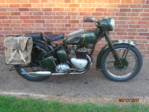 Triumph TRW 1964 EX WD  Ready to ride away For Sale (picture 2 of 5)
