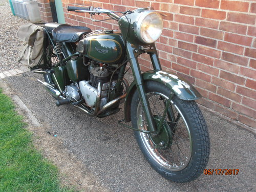 Triumph TRW 1964 EX WD  Ready to ride away For Sale (picture 4 of 5)