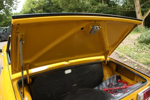 1976 Triumph Spitfire 1500 - Inca Yellow - Tax/MOT exempt! SOLD (picture 5 of 6)