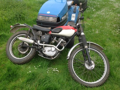1974 Triumph tiger cub v5 trials bike For Sale (picture 1 of 1)
