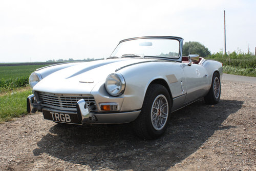 GT6 MKII CONVERTIBLE. 1969 SOLD (picture 1 of 6)