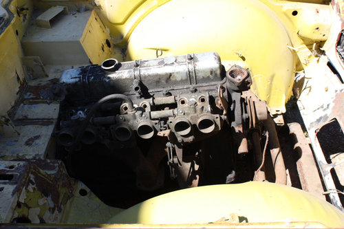TR6 1973 ORIGINAL UK FUEL INJECTED PROJECT SOLD (picture 5 of 6)