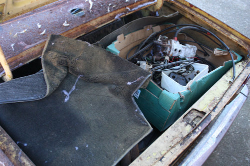 TR6 1973 ORIGINAL UK FUEL INJECTED PROJECT SOLD (picture 6 of 6)