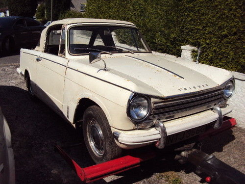1968 herald by triumph dry stored 32 years SOLD (picture 1 of 6)