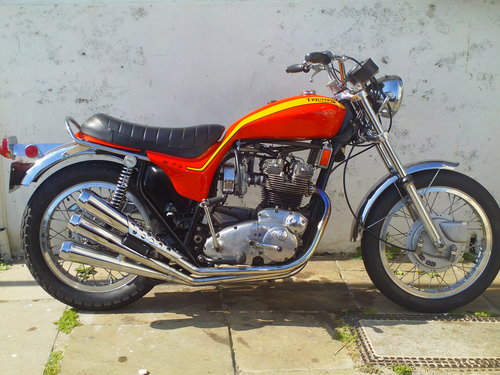 1972 TRIUMPH X75 HURRICANE For Sale (picture 1 of 6)
