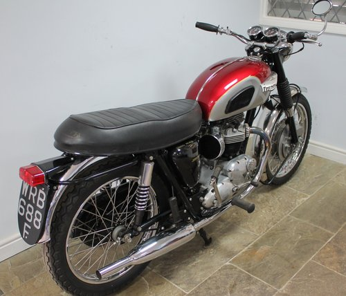 1968 Triumph Bonneville T120 Matching Engine And Frame No Sold