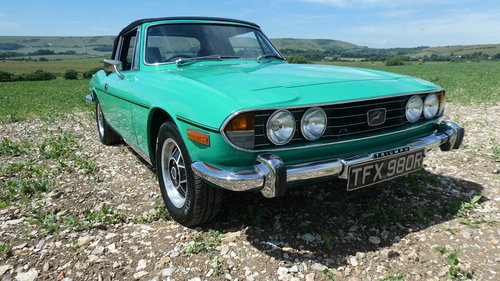 1976 Triumph Stag Mk 2 Automatic  SOLD (picture 1 of 6)