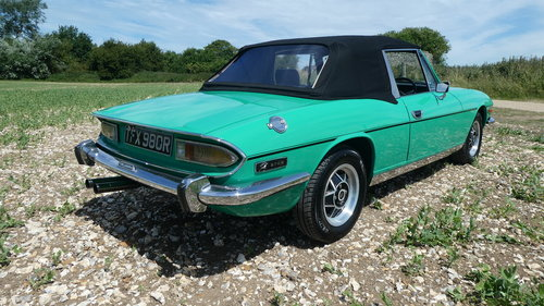1976 Triumph Stag Mk 2 Automatic  SOLD (picture 3 of 6)