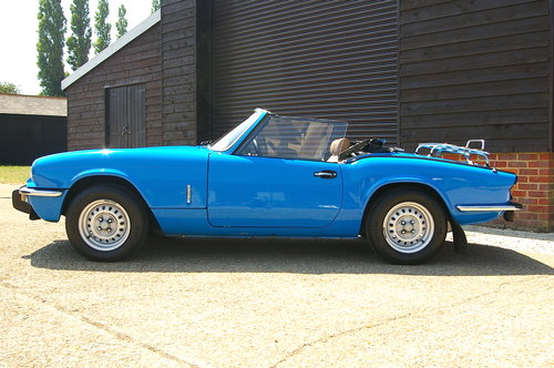 1980 Triumph Spitfire 1500 Convertible Manual (36,231 miles) SOLD (picture 1 of 6)