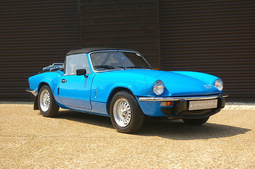 1980 Triumph Spitfire 1500 Convertible Manual (36,231 miles) SOLD (picture 2 of 6)