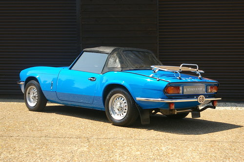 1980 Triumph Spitfire 1500 Convertible Manual (36,231 miles) SOLD (picture 3 of 6)