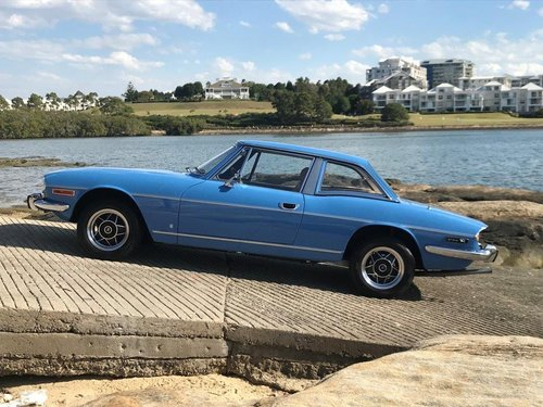 1974 Triumph Stag Man O/D French Blue Fully Restored SOLD (picture 1 of 6)