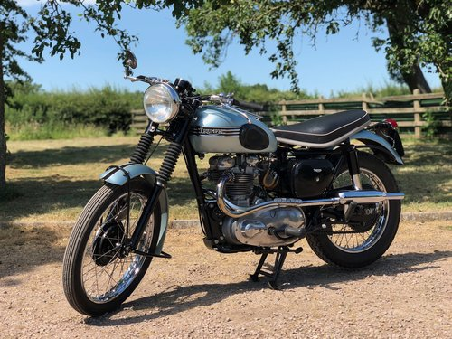 Triumph Trophy TR6 Pre-Unit 1956. Classic British Motorcycle SOLD (picture 1 of 6)