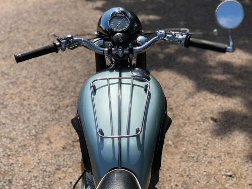 Triumph Trophy TR6 Pre-Unit 1956. Classic British Motorcycle SOLD (picture 5 of 6)